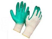 Перчатки ХБ с Одинарн латекс покрыт 13 класс